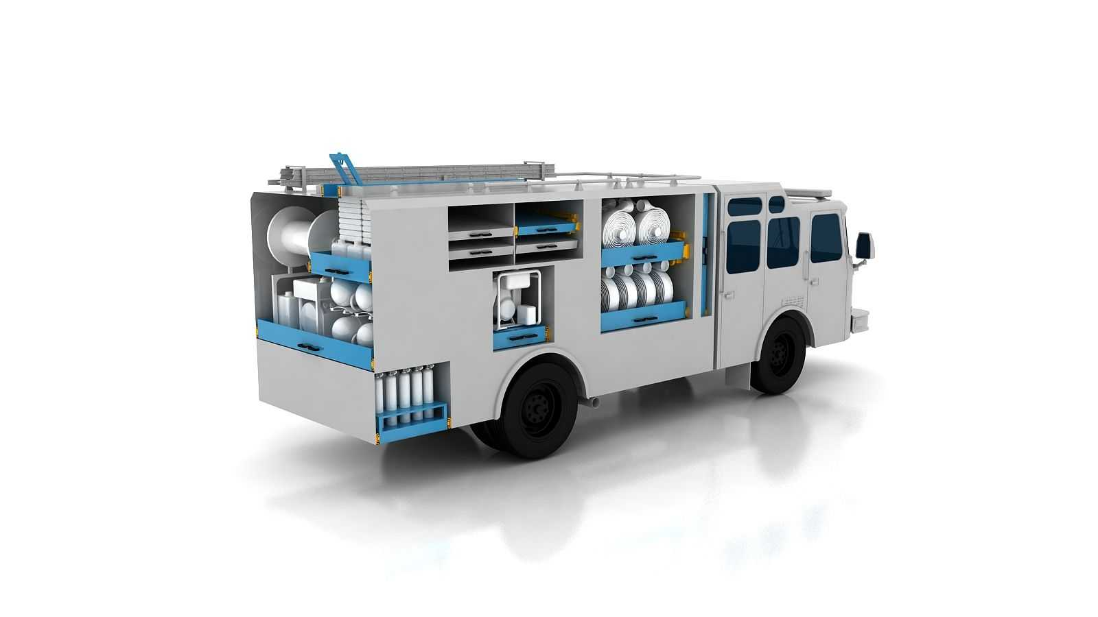 CHAMBRELAN SLIDING SYSTEMS FOR EMERGENCY VEHICLES